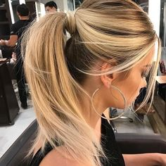 "6,687 Likes, 25 Comments - IT Blonde (@itblonde) on Instagram: ""Hairstyle inspirations we love! Saturday classy ponytail! #itblondeloves #ponytail #blondehair"""