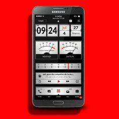 Buzz launcher Samsung Galaxy Note 3