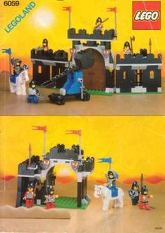Lego 6059 - Knight's Stronghold - 1990