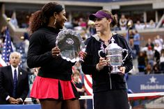 Sam Stosur defeats Serena Williams to become US Open Women's Champion.  September 2011.  #tennis