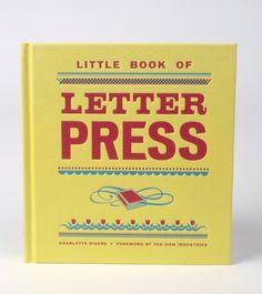 I need this book! Cranky Pressman and lots of other  great letterpress studios in these pages. #letterpress #print