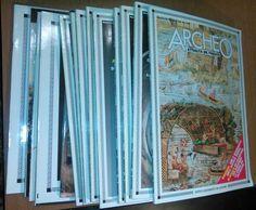 ARCHEO attualità passato 1988 annata completa 12 numeri + 3 dossier De Agostini
