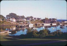 Camden Harbor,Maine ,1941.