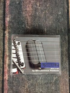 Bill Lawrence L-500XLZ Zebra Electric Guitar Pickup