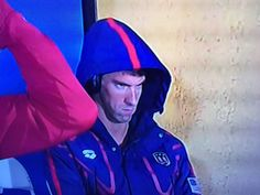 Michael Phelps made a funny (but also terrifying) face before his 200 meter butterfly semi-finals on Monday night after some pre-race antics from his rival Chad Le Clos. Naturally, the internet lov…