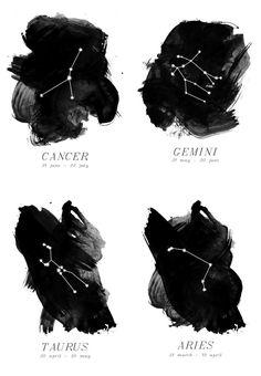 zodiac-watercolor-print-3 http://theneotraditionalist.com/2012/10/18/zodiac-prints/#