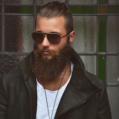 beards carefully curated — Mike