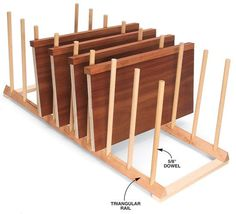Finishing Rack - Woodworking Shop - American Woodworker