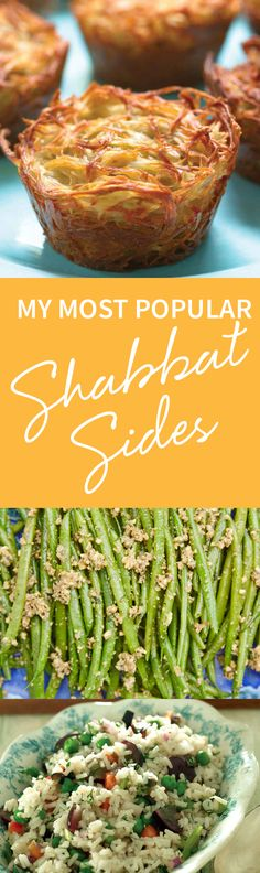 """Make your """"chicken plus..."""" dinner a winner with Jamie's superb roundup of the most popular, most beloved, most visited, most shared, most commented, and most bookmarked sides. http://www.joyofkosher.com/2016/11/jamie-g-popular-shabbat-sides/"""