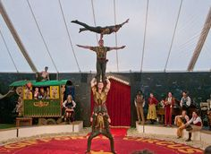 Gifford's Circus via Britain Magazine
