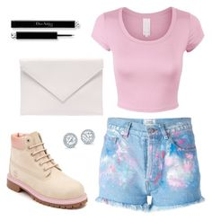 """""""Summer Lovin"""" by emmavanweert on Polyvore featuring Forte Couture, Timberland and Verali"""