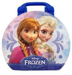Disney Frozen Mini Suitcase Gift Tin with 2 oz Candy Box Fruit Flavor Food Snack #Galerie