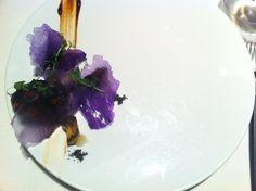 Un plato de Diverxo (1 estrella Michelin)