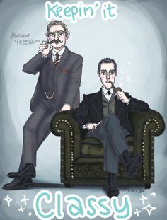 Sherlock Special classin' up the joint :B