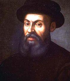De Portugese ontdekkingsreiziger Ferdinand Magellan (1480-1521) leidde de eerste zeilreis rond de wereld, waarmee het bewijs werd geleverd dat de wereld rond is.  Magellan werd in een zeer welgestelde familie geboren. Hij diende van 1505 tot 1512 in het Portugese leger te India. Van 1513 tot 1514 diende hij in het Portugese leger in Marokko. Hij werd beschuldigd van financiële ongeregeldheden en viel uit de gratie van de Portugese koning Manuel I. Hierdoor kon hij van Portugese kant niet op…