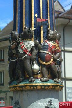 Kindlifresserbrunnen - Bern , Switzerland