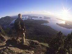 """The view from our hike to """"Lone Cone"""" - breathtaking! On National Geographic Travel's list of Canada's Top 50 Places of a Lifetime: """"Clayoquot Sound #Canada50 #ExploreCanada"""" #ExploreBC"""