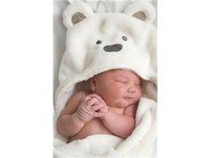 NY! Babyfilt som simplet.se hjälper till att sälja! Isbjörn. Pläd.