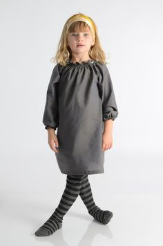 mabo kids — Solid Smocked Dress