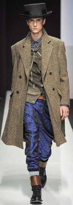 Vivienne Westwood Autumn/Winter 2015-16 Menswear