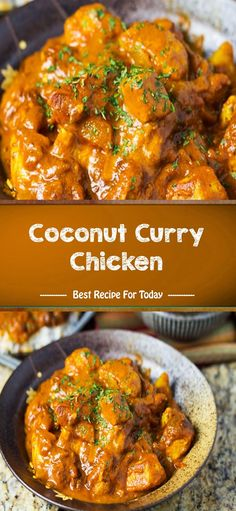 Coconut Curry Chicken - Dringking Times