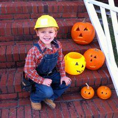 Bob The Builder Toddler Halloween Costume