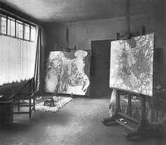 atelierlog: Gustav Klimt atelier