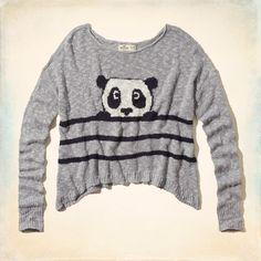 Girls Oceanside Intarsia Sweater | Girls Clearance | HollisterCo.com