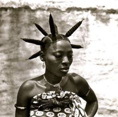 Africa | Fang woman from Gabon