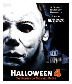 Animated Gif - Movie Poster - Halloween 4