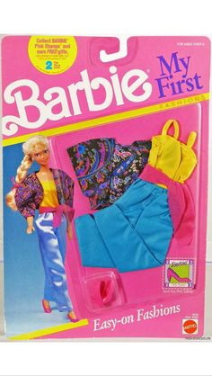 1990 Barbie - My First Fashions #