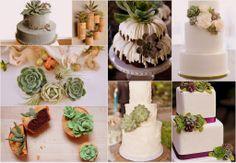 cascading bridal bouquets, peach, succulents | Succulent Wedding Theme Ideas: Bouquets, Decor & Favors | Confetti ...