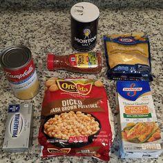 Sopa de batata simples em Crockpot - é o que é para o jantar - Suppen Idees - Sopas Crock Pot Recipes, Sopa Crock Pot, Crock Pot Food, Crockpot Dishes, Crock Pot Slow Cooker, Slow Cooker Recipes, Gourmet Recipes, Cooking Recipes, Crock Pot Potato Soup