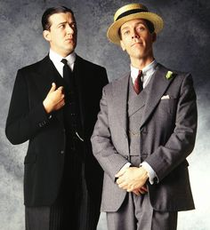 Stephen Fry and Hugh Laurie -- Jeeves and Wooster