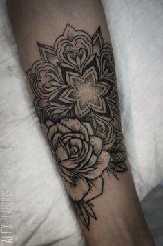 Floral and mandala combo
