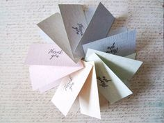 Mini Colorful Note Cards with Envelope / Blank Note by HeartStreet