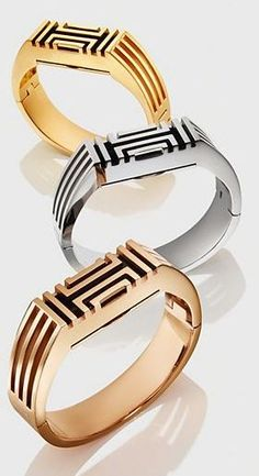 very stylish metal Tory Burch FitBit http://rstyle.me/n/sxsxcr9te: