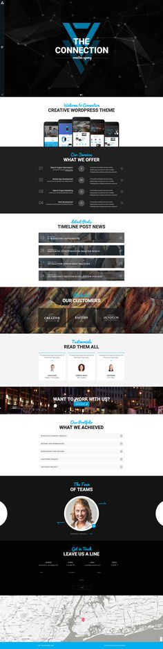 Buy Connection - Multipurpose / Creative / Business / Corporate / Agency / Portfolio WordPress Theme by modeltheme on ThemeForest. Want to create and incredible Agency/Personal theme? Amazing Websites, Video Background, Make More Money, Creative Business, Wordpress Theme, Connection, Web Design, The Incredibles, Personal Portfolio