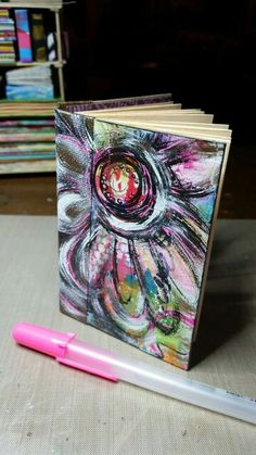 Diane's Mixed Media Art - mini journal