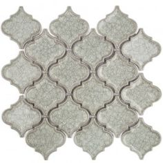 roman collection frosty morning arabesque glass tile arabesque tile shop by tile shape and