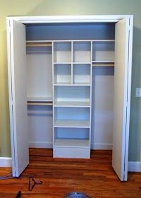 My next project for his and hers closets