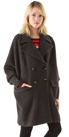 Marc by Marc Jacobs coat  (via http://www.chicityfashion.com/oversized-coats/)