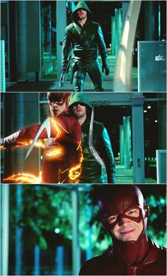 "Just like ... ""Youre welcome!"" hahah #Arrow #TheFlash"