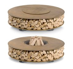 Three Super Hot Outdoor Wood Fire Pits From AK47 - if it's hip, it's here