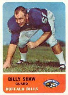 #22 Billy Shaw - 1962 Fleer #16