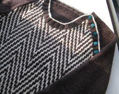 Ravelry: Hollywood herringbone pullover pattern by Kate Gagnon Osborn