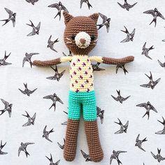 Gatito Berto - hecho por Florencia Rodríguez para Kitsune Shop