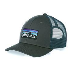 Patagonia P-6 Trucker Hat Cap - Forge Grey