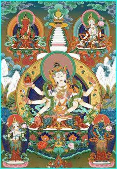 Ushishavijaya,Amitayus and White Tara