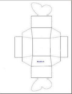 Plantillas de cajas para repartir tabaco en la boda - Paperblog
